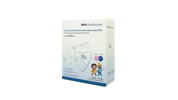MPG Healthcare Munschutz FFP2 für Kinder Pink/Blau