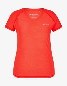 Fit&More - Fitness-Shirt mit Melange-Effekt