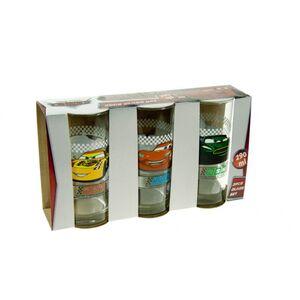 Trinkgläser-3-er-Set - Cars - 290 ml