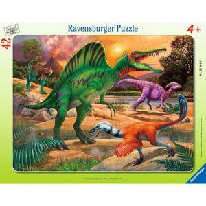 Rahmenpuzzle - Spinosaurus - 42 Teile