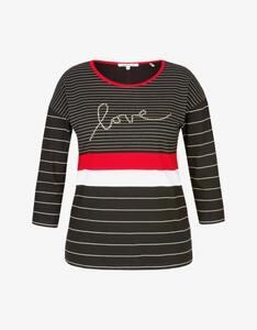 Steilmann Woman - Streifen-Shirt mit Wording