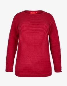 Thea - Pullover mit Ripp-Struktur, reine Baumwolle