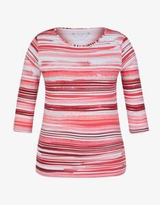 Malva - Shirt mit 3/4-Arm im Streifen-Design