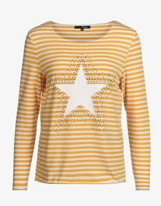 MY OWN - Streifenshirt mit Sterne und Ziersteinen