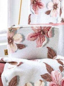 Kosmetiktasche Feiler rosé