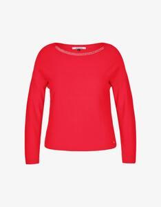 Steilmann Woman - Pullover mit Schmuckdetails am Ausschnitt