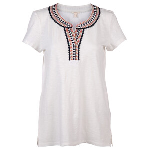 Damen Shirt mit hübscher Borte