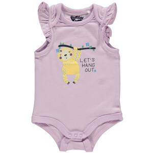 Baby Mädchen Body mit Flügelärmel