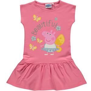 Mädchen Kleid mit Frontprint Peppa Pig