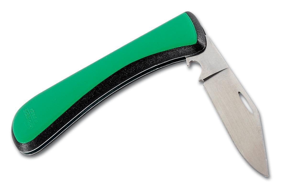 Bild 3 von Edelstahl Pommesgabel + Brotzeitmesser, Taschenmesser klappbar mit Flaschenöffner - Made in Solingen