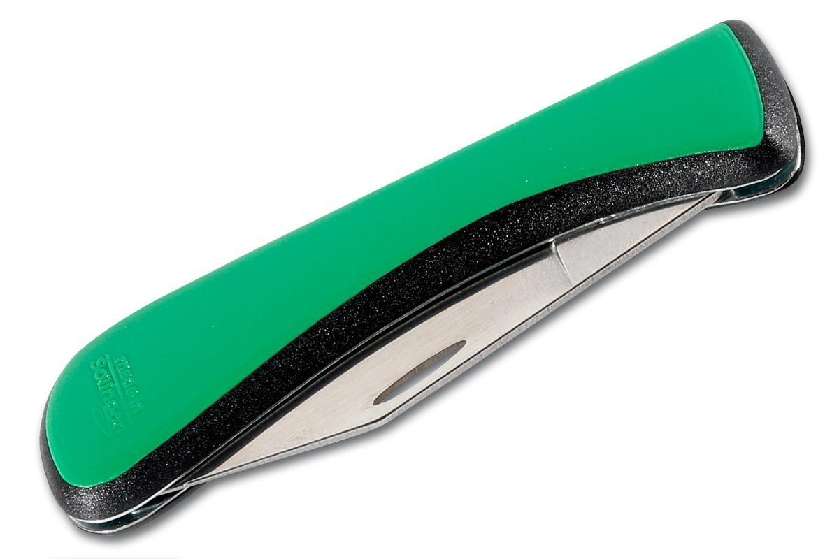 Bild 5 von Edelstahl Pommesgabel + Brotzeitmesser, Taschenmesser klappbar mit Flaschenöffner - Made in Solingen
