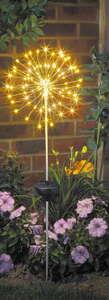 """I-Glow LED-Solar-Leuchte """"Pusteblume"""""""