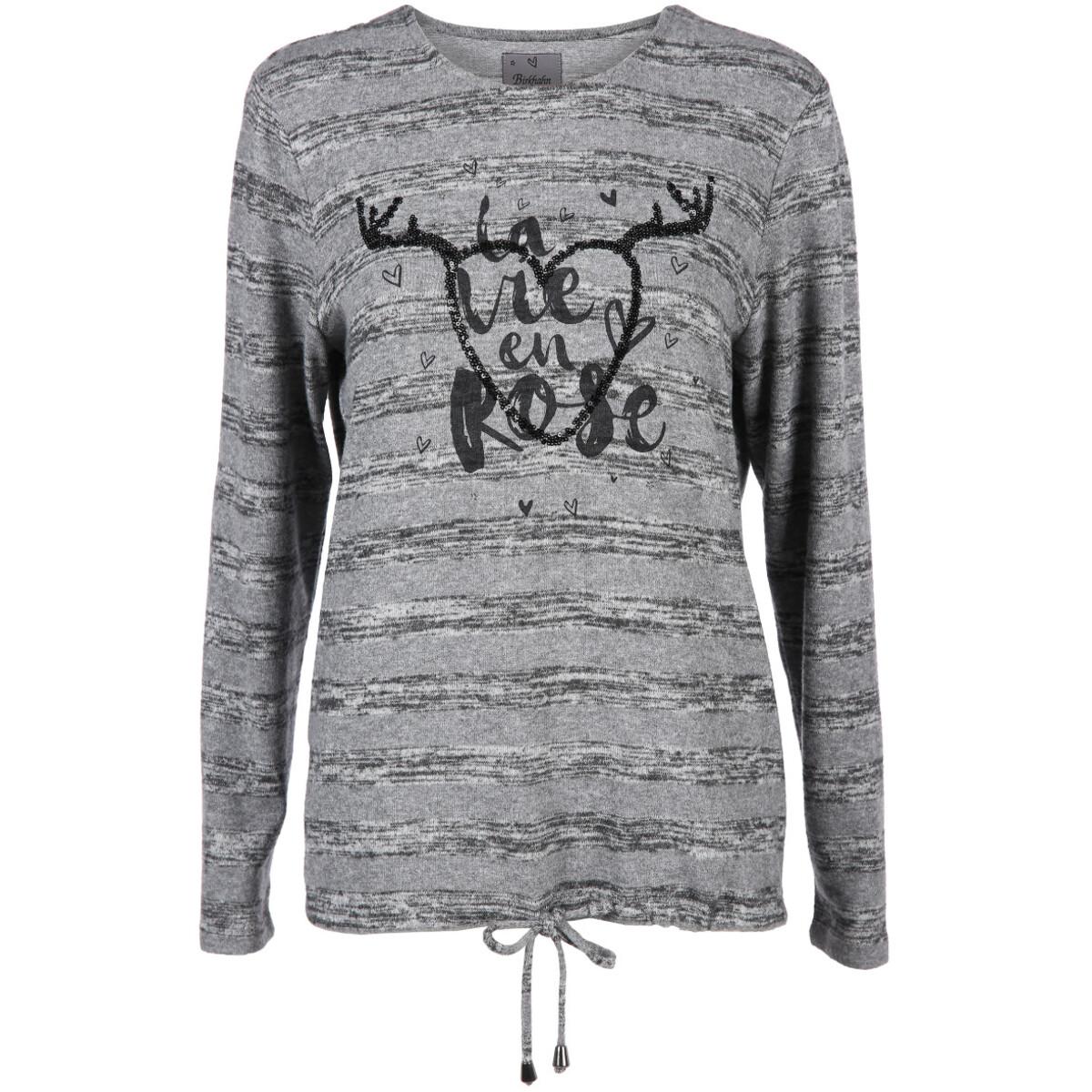 Bild 1 von Damen Shirt mit Pailletten Print Motiv
