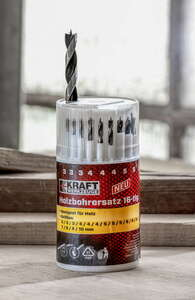 Kraft Werkzeuge Holzbohrersatz - 16tlg.