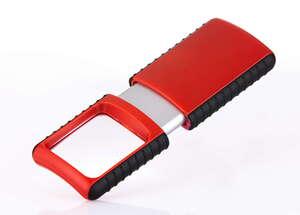 Wedo Kompakte Lupe - Rot