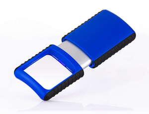 Wedo Kompakte Lupe - Blau