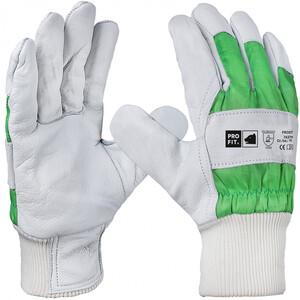 Handschuhe Größe 11 aus Rindvollleder mit Baumwollfüllung