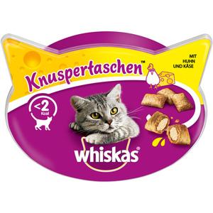 Whiskas Katzensnack Knuspertaschen Huhn + Käse 60 g