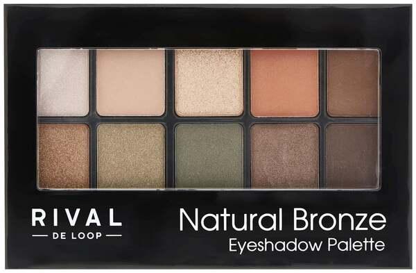 RIVAL DE LOOP Eyeshadow Palette 06 Natural Bronze