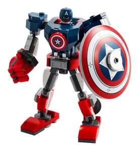 LEGO Marvel Avengers Captain America Mech 76168