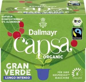 Dallmayr Bio capsa Gran Verde Lungo Intenso Kaffeekapseln