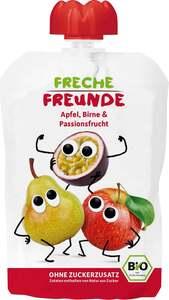 erdbär Bio Fruchtpüree Apfel, Birne & Passionsfrucht