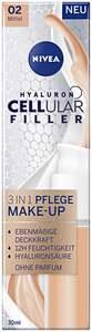 NIVEA Hyaluron Cellular Filler 3in1 Pflege Make-Up Mittel