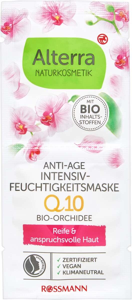 Bild 1 von Alterra NATURKOSMETIK Anti-Age Intensiv-Feuchtigkeitsmaske Q10 Bio Orchidee