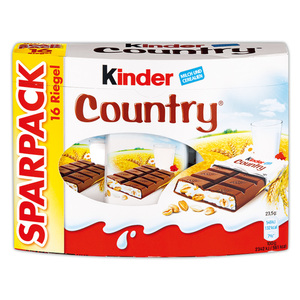 Kinder Country Sparpack