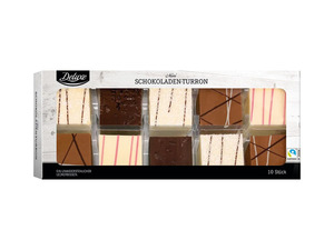 Deluxe Mini-Schokoladen-Turron