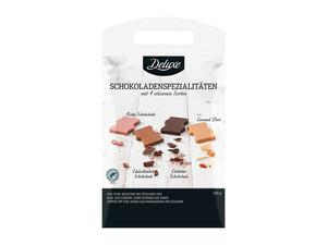 Deluxe Schokoladenspezialitäten