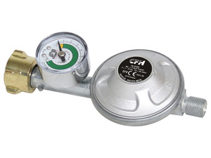 CFH Gasdruckregler, mit Manometer