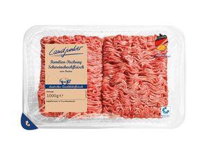 Landjunker Frisches Schweinehackfleisch XXL-Packung