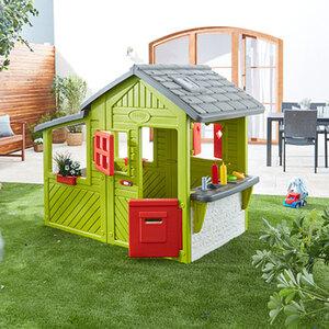 Spielhaus Neo Floralie1