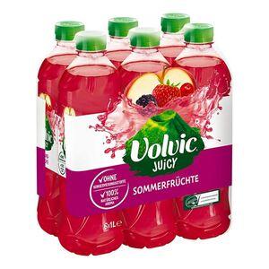Volvic Juicy Sommerfrüchte 1 Liter, 6er Pack
