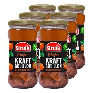 Struik Kraftbouillon Rind 340 ml, 6er Pack