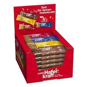 Corny Haferkraft Mixbox, verschiedene Sorten, 24 Riegel x 65 g