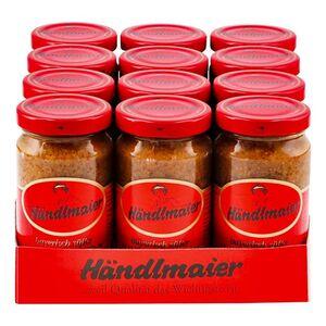 Händlmaier Süßer Hausmachersenf 200 ml, 12er Pack