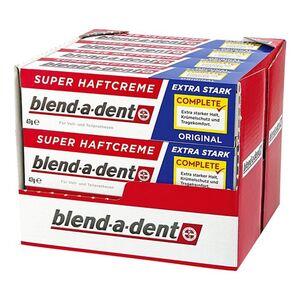 Blend-a-dent Super-Haftcreme Extra Stark 47 g, 12er Pack