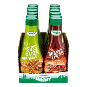 Develey Feinkostsaucen 250 ml, verschiedene Sorten, 12er Pack