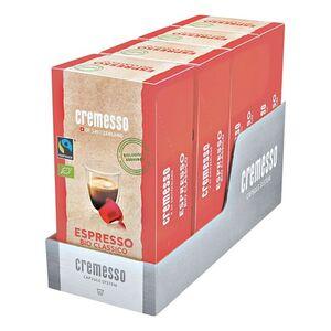 Cremesso Espresso Bio Classico Kaffee 16 Kapseln 96 g, 4er Pack