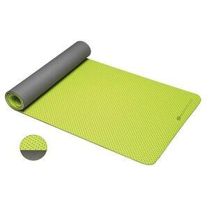 ecowellness Anti-Rutsch-Yogamatte zweilagig 183 x 61 x 0,4 cm