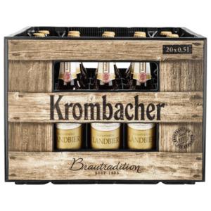 Krombacher Naturtrübes Landbier 20x0,5l