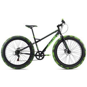 KS Cycling Mountainbike MTB Fatbike 26'' SNW2458 für Herren, Größe: 43, Schwarz