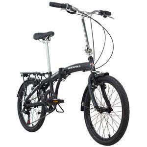 KS Cycling Faltrad 20'' Quickfold 6 Gänge, Größe: 28, Schwarz