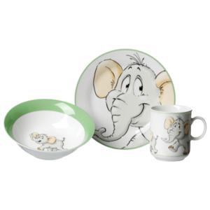 Ritzenhoff & Breker Kinderset Elefant Bunt 3-teilig bunt, Mehrfarbig