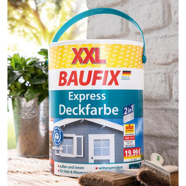 Baufix XXL-Express-Deckfarbe 5 Liter