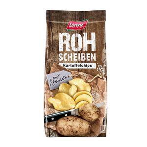 Lorenz®  Rohscheiben Kartoffelchips 120 g