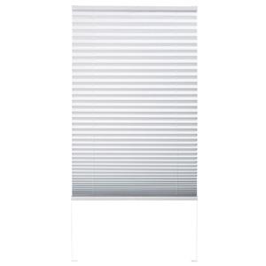 Verdunklungsplissee fix montiert (90x130, weiß)