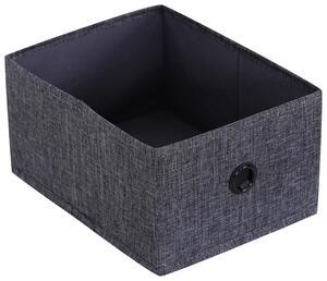 Aufbewahrungsbox Nahla in Grau